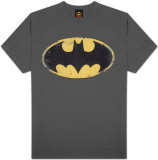Batman - Distressed Shield Shirts