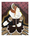 Elizabeth I Giclee Print by Terra Laurant