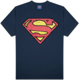 Superman - Distressed Shield Camisetas