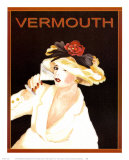 Vermouth Print by Kathleen Richards-babcock