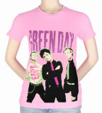 Juniors: Green Day - Big Photo Shirt