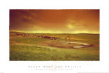 Storm over the Prairie Prints by David R. Stoecklein