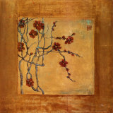 Chinese Blossoms I Prints by Jill Barton