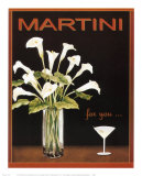 Martini Prints by Kathleen Richards-babcock