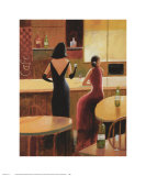 Cafe Vino II Posters by Robert Smith