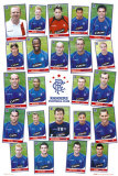 Rangers Squad Profiles Posters