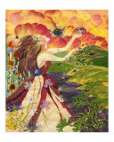 Spring Shower Giclee Print by Shelley Xie