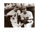Ted Williams & Joe DiMaggio, 1951 Kunstdrucke