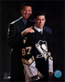 2005 - Sidney Crosby / Mario Lemieux Draft Day Photo