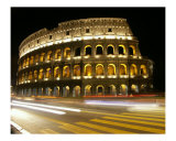 The Colosseum at Night Photographic Print by Epstein