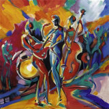 Full Swing I Posters by Alfred Gockel