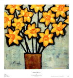 Mellow Yellow II Poster by Irene Paschal
