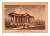 Portico of Diocletien Prints by Louis Fernan Cassas