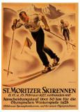 St. Moritzer Skirennen Prints