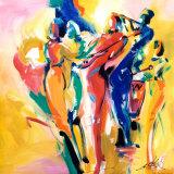 Jazz Explosion I Poster von Alfred Gockel