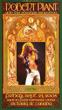 Robert Plant Victoria Concert Poster von Bob Masse