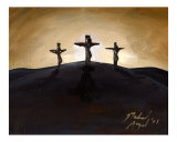 Calvary III Reproduction procédé giclée par Michael Angel