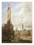 Piazza Del Campo Prints by John Fulleylove
