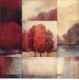 Persimmon Forest Prints by  Ivo