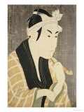 Okubi E Portrait of the Actor Matsumobo Koshiro IV Giclee Print by  Toshusai Sharaku