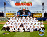 2005 White Sox World Series Champions Sit Down Team Photo Photo