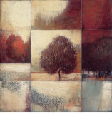 Persimmon Grove Print by  Ivo