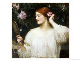 Vanity Giclee Print by John William Waterhouse