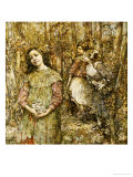 Gathering Snowdrops, 1917 Posters by Edward Atkinson Hornel