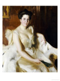 Portrait of Mrs de Ver Warner Giclee Print by Anders Leonard Zorn