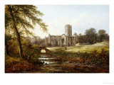 Rievaulx Abbey Giclee Print by Walter Williams