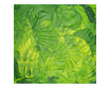 Green and Greener Giclee Print by Leah Wilcox