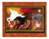 Four Horses of the Apocalypse Giclee Print by Asereht Orecul