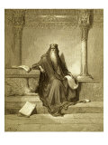 Solomon, King of Israel Giclee Print by Gustave Dor&#233;