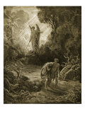 Adam and Eve Giclee Print by Gustave Doré