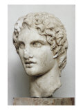 Bust of Alexander the Great Reproduction procédé giclée