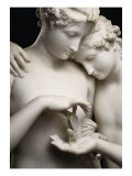 Cupid and Psyche, Detail Reproduction procédé giclée par Antonio Canova