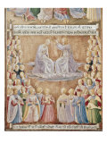 Coronation of the Virgin Giclee Print by  Fra Angelico