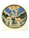 Jacob's Ladder Premium Giclee Print by Edward Burne-Jones