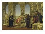 Calumny Giclee Print by Sandro Botticelli