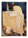 La Toilette Reproduction proc&#233;d&#233; gicl&#233;e par Mary Cassatt