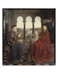The Virgin of Chancellor Rolin Giclee Print by  Jan van Eyck