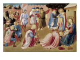 Adoration of the Kings Giclee Print by  Fra Angelico
