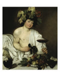 Bacchus Giclee Print by  Caravaggio