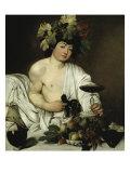 Bacchus Premium Giclee Print by  Caravaggio