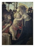 Virgin and Child with John the Baptist Giclee Print by Sandro Botticelli