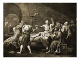 Death of Socrates Giclee Print by Jacques-Louis David