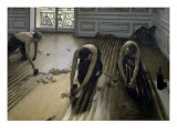 Raboteurs de Parquet Giclee Print by Gustave Caillebotte