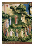 The, Detail Last Judgement Giclee Print by Fra Angelico