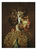 The Air Gicle-tryk af Giuseppe Arcimboldo