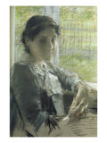 At the Window Giclee Print by William Merritt Chase